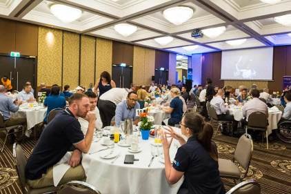Image of business guests at Cairns breakfast function