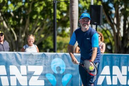 Image of local business member at Cairns Tennis Charity Challenge