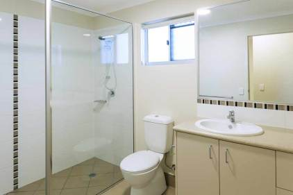 Image of bathroom in a unit housing development, Thursday Island