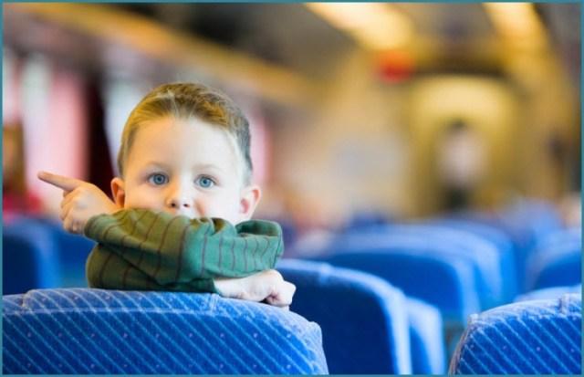 Малыш в самолёте