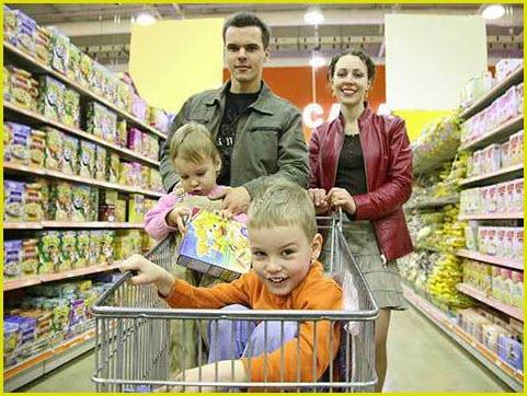 Делаем покупки всей семьёй