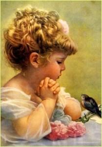 Девочка слушает соловья