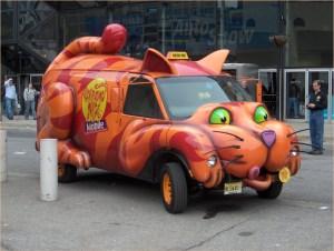 Автомобиль-кот