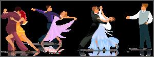Репетиция бальных танцев