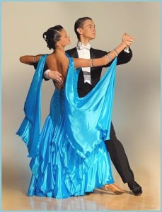 Красивый танец вальс