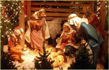 Открытка рождение Христа