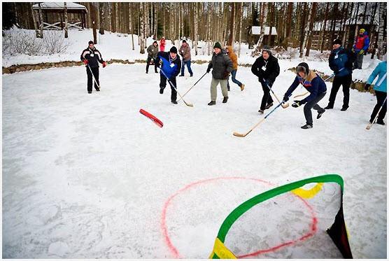 Хоккей без коньков