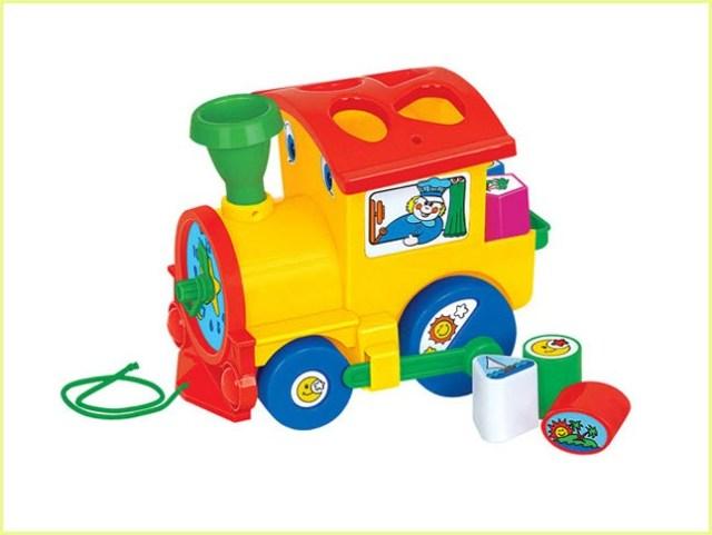 Игрушка паровоз