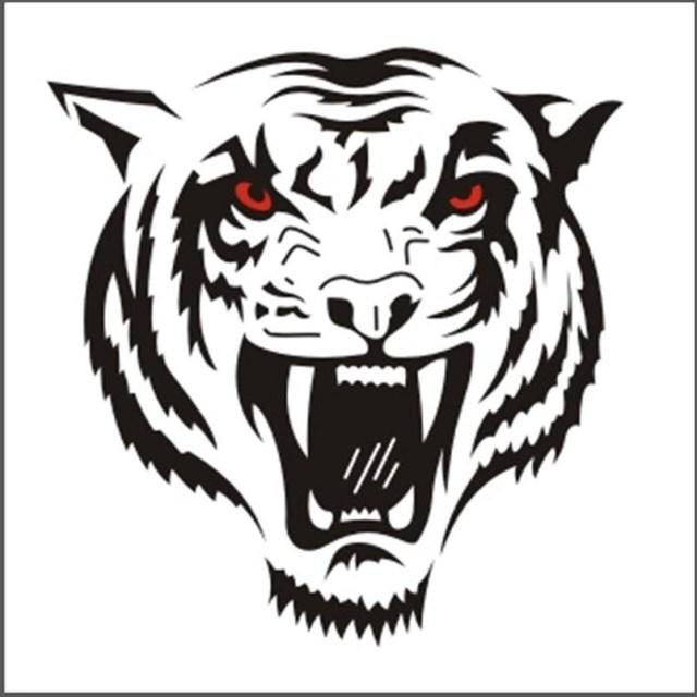 Узор тигр