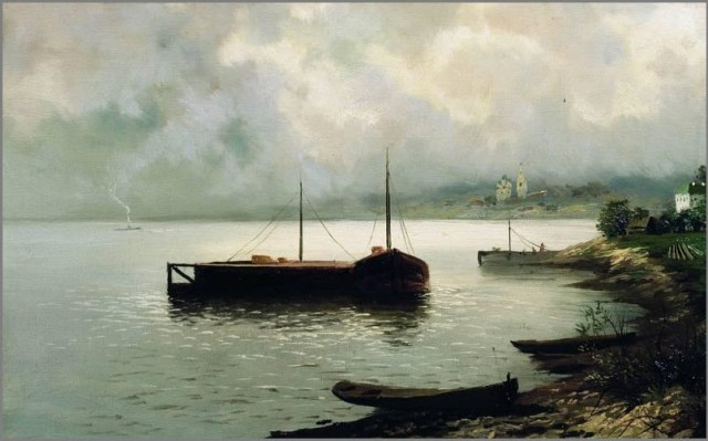 Волга картина