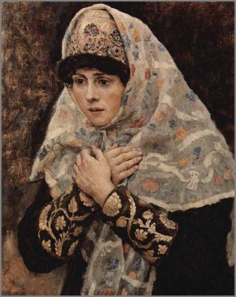 Боярская дочь картина
