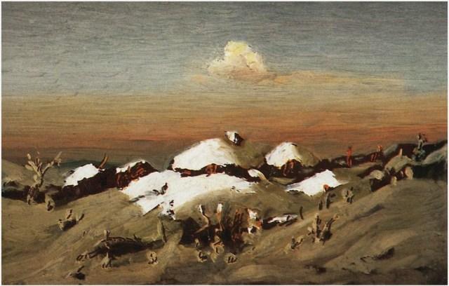 Зима картина 2