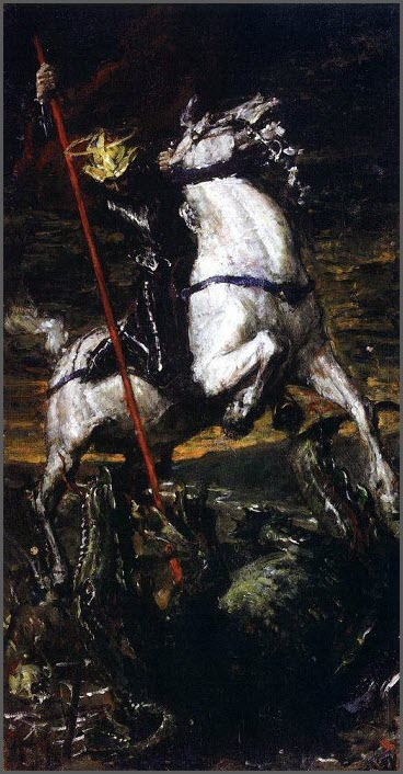 Георгий Победоносец картина