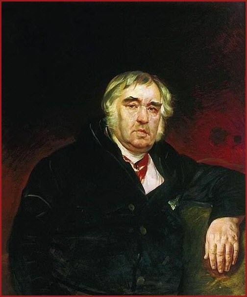Портрет И. А. Крылова