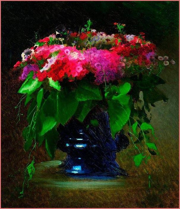 Букет цветов флоксы