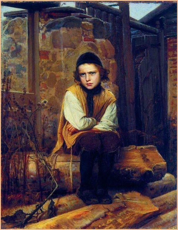 Оскорблённый еврейский мальчик картина