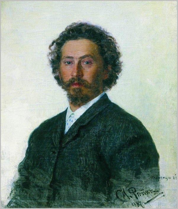 Портрет Репина