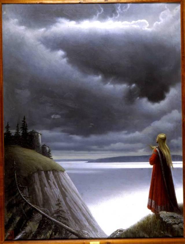 Волга картина 3