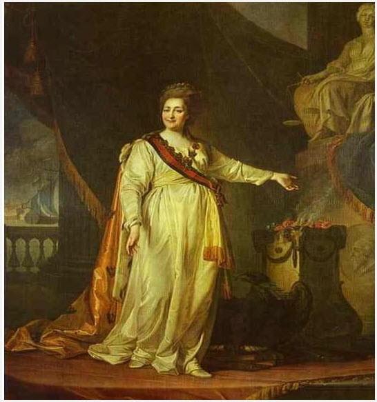 Портрет Екатерины II 1