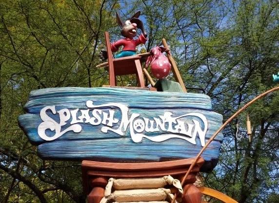 fachada splash mountain magic kingdom