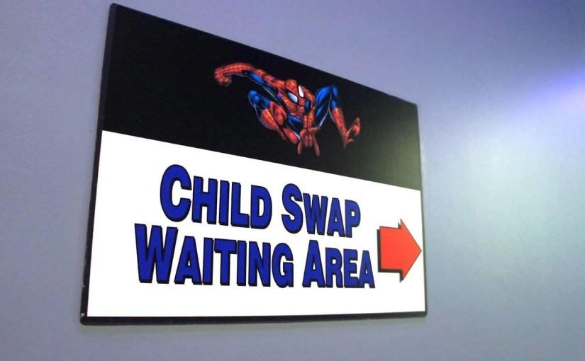 Child Swap: Que fazer com crianças nas atrações radicais de Orlando