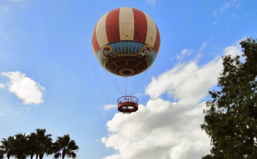 Characters in Flight – O balão da Disney