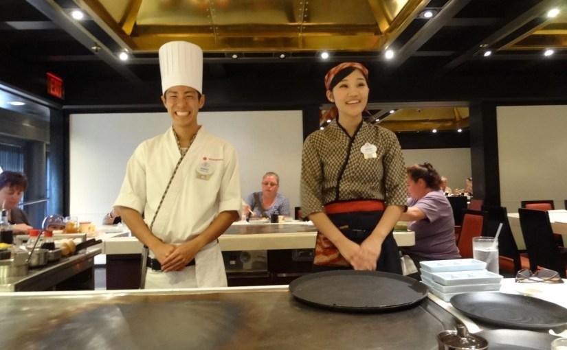 Teppan Edo: Um restaurante tradicional japonês em Epcot