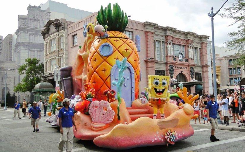 Universal's Superstar Parade:  A parada do Universal Studios