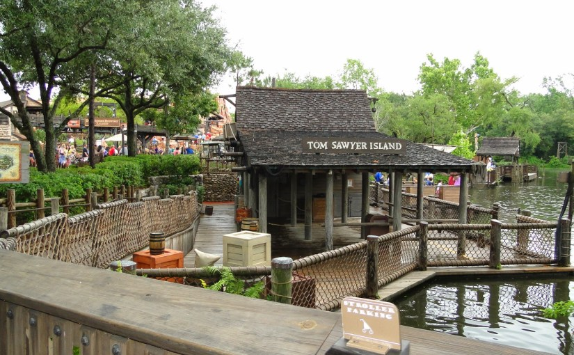 Tom Sawyer Island – Uma ilha escondida no Magic Kingdom