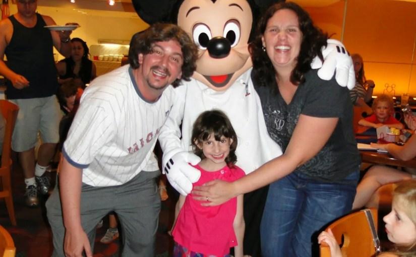 5 dicas para refeições com personagens na Disney
