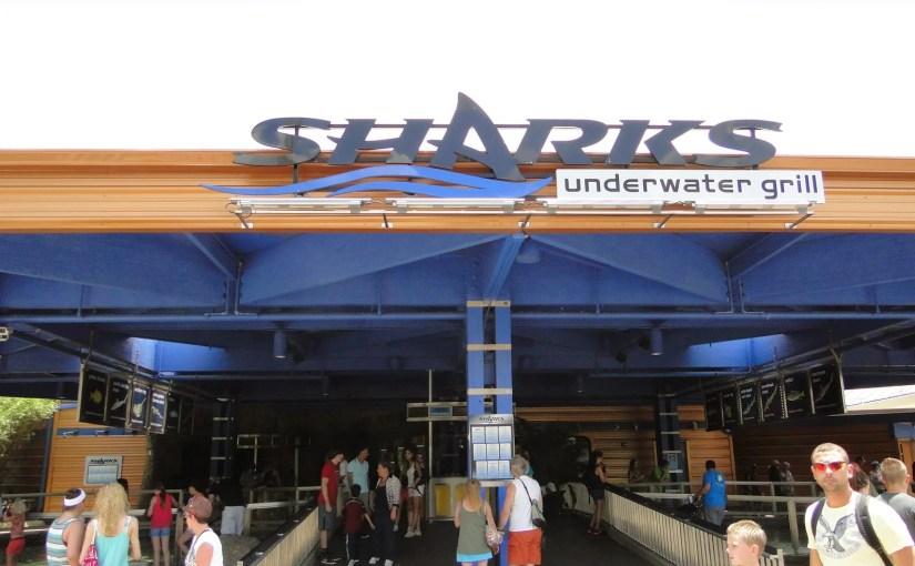 Sharks Underwater Grill: Restaurante com tubarões no SeaWorld