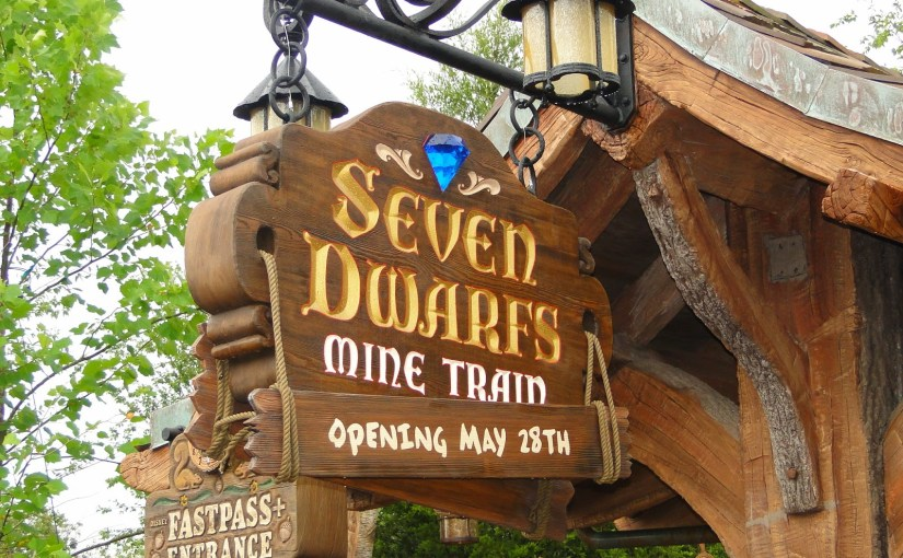 Seven Dwarfs Mine Train – A montanha-russa dos Sete Anões no Magic Kingdom
