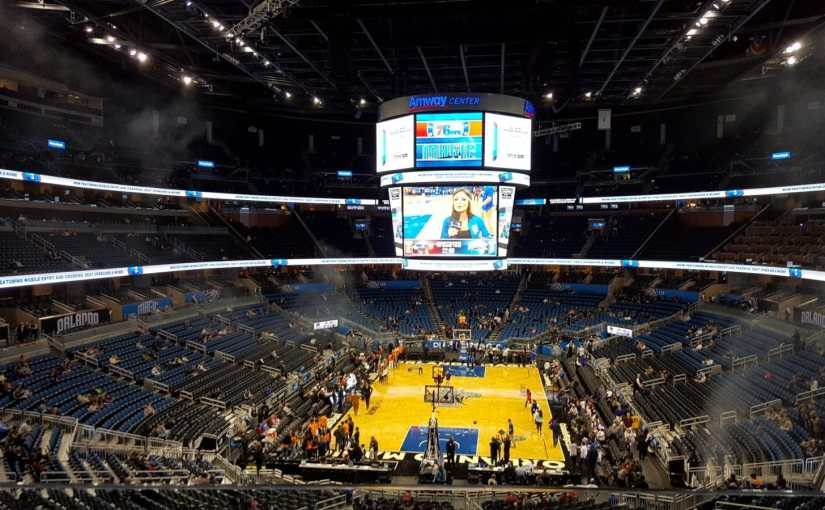 Orlando Magic como é o jogo no Amway Center