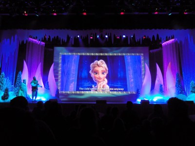 show frozen