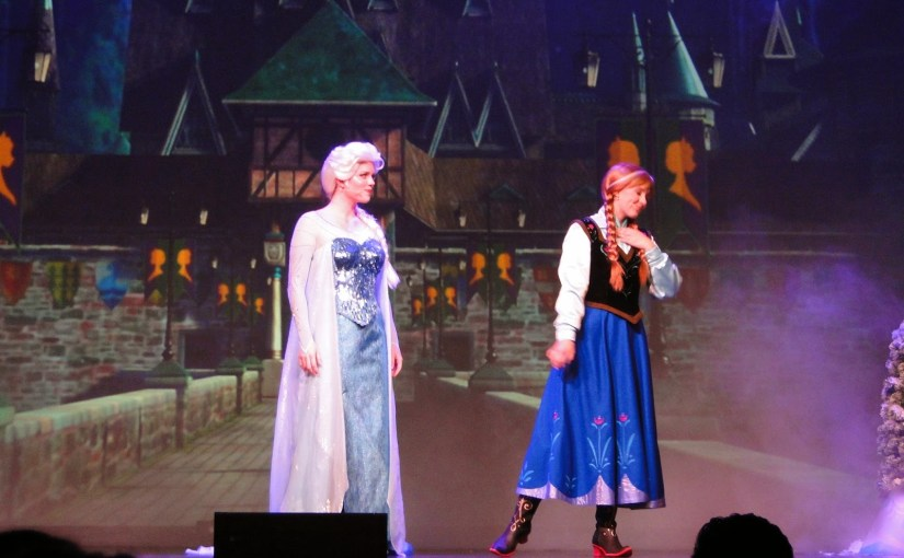 For the First Time in Forever – Show Frozen no Hollywood Studios