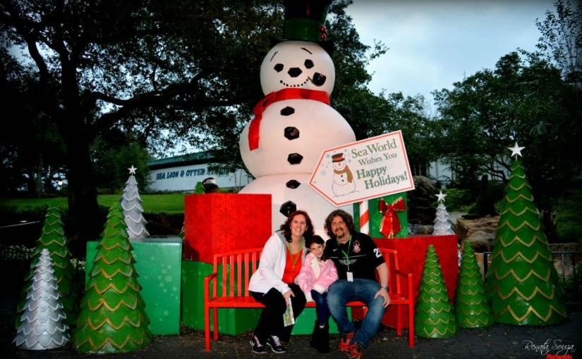 Christmas Celebration, Natal do SeaWorld