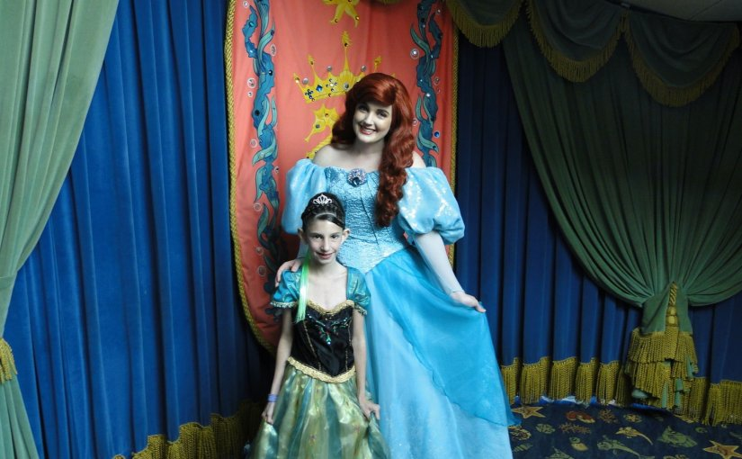 Ariel's Grotto – Restaurante com as princesas na Disneyland California