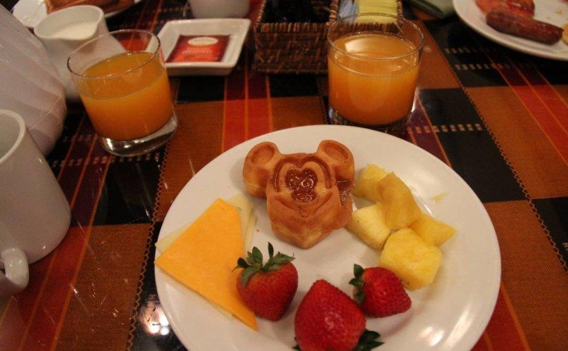 Boma – Maior buffet de café da manhã da Disney