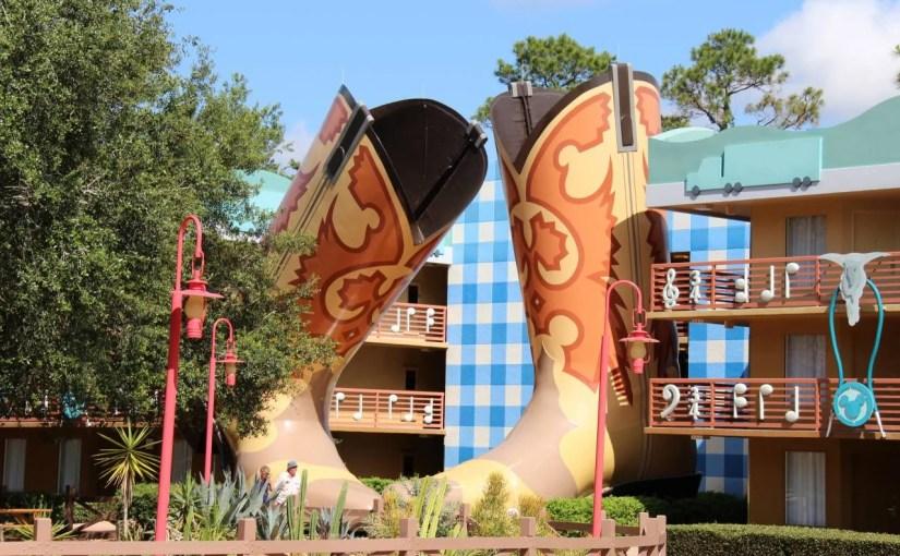 All Star Music: Hotel econômico na Disney