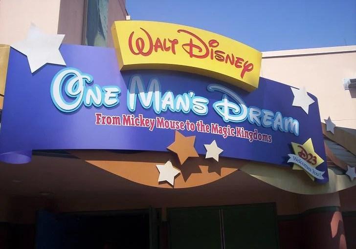 One Man's Dream: A vida e o legado de Walt Disney no Hollywood Studios