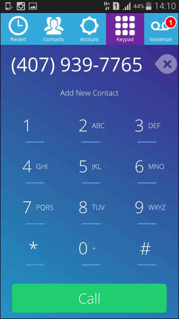 App para ligar para celular gratis