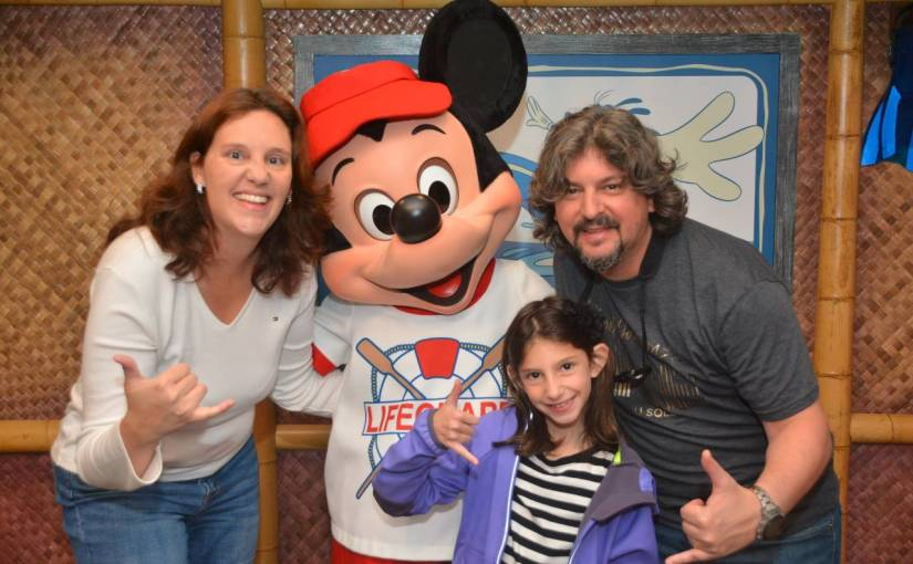 Café com Mickey na Disneyland