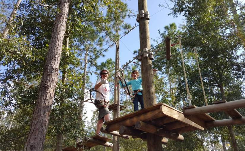 Orlando Tree Trek – Arvorismo e tirolesa em Orlando