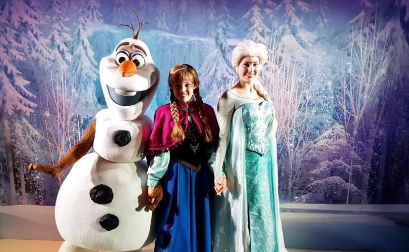 Dia Frozen nos navios Disney