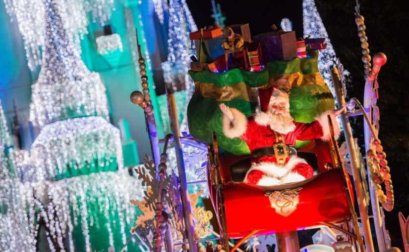 Onde encontrar o Papai Noel na Disney