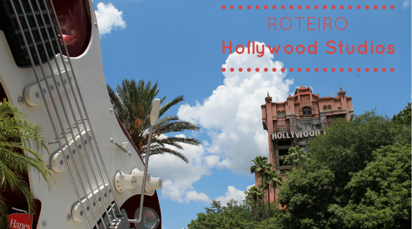 roteiro hollywood studios