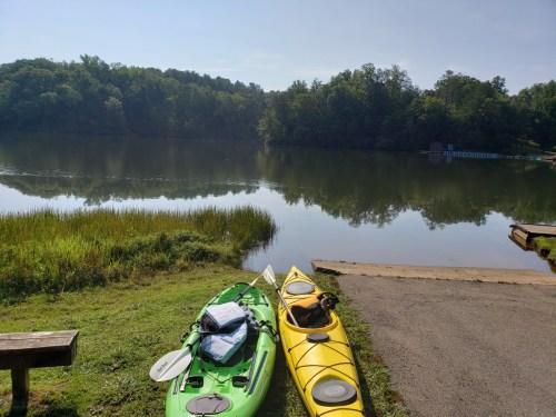 Vacationing at Fairy Stone Lake