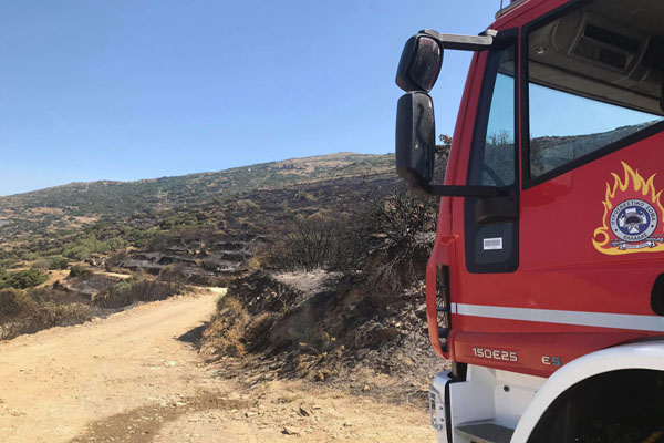 Η αποτίμηση της φωτιάς στην Πλάκα -Καλαμάκι