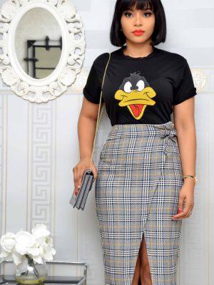Black Daffy Duck T-Shirt