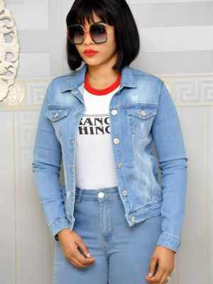 Sky Blue Denim Jacket